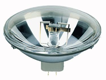 Das Abbild eine PAR 64 Leuchtlittel