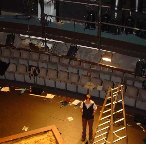 Stadttheater Paderborn mit blick auf die Bühne