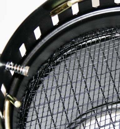 Schutzgitter innerhalb eines PAR-Scheinwerfers
