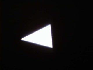 Dreieck abgeschoben