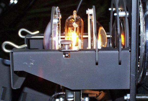 Kondensor Lampenhaus