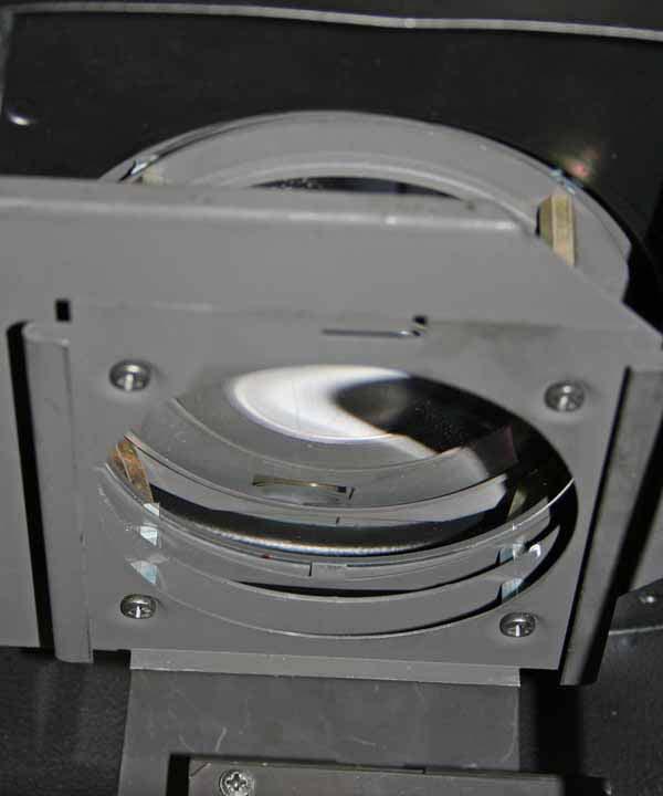 im Tubus Filter-aufnahmerahmen