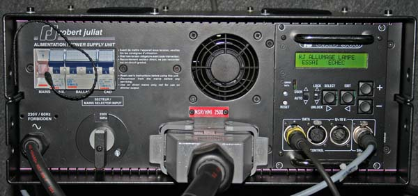 KVG mit DMX-Ansteuerungselektronik