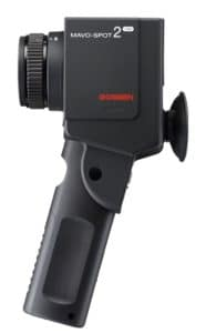 Gezeigt wird das Leuchtdichtemessgerät von Mavo-Spot2 der Firma Gossen