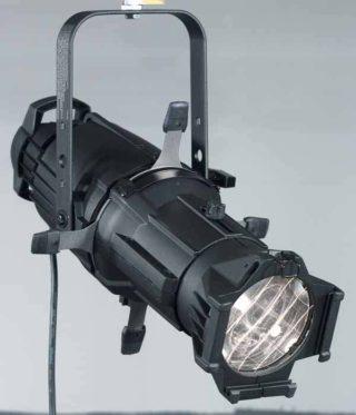 Profilscheinwerfer mit 19° Tubus