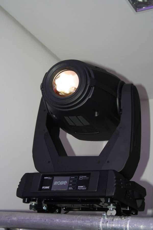Movinglight mit Plasmaleuchtmittel
