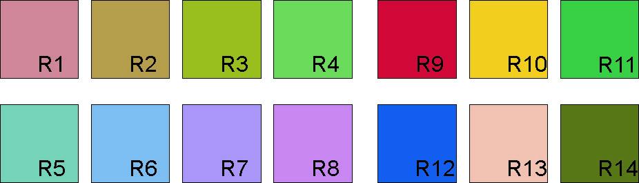 Referenzfarben Re