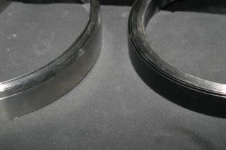 Stahlband Schwarz Weiß