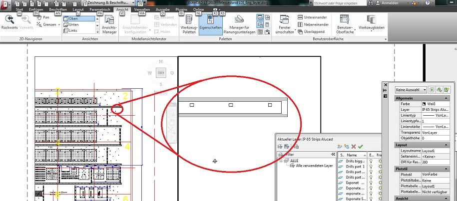 Eine Vektoriesierte Zeichnung kann man beliebig vergrößern oder verkleinern ohne Informationsverlust