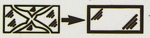 Symbol Glasbruch