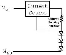 Grafik: Prinzip der Stromsteuerung