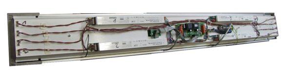Elektronikkomponenten in einer HGL-Wanne