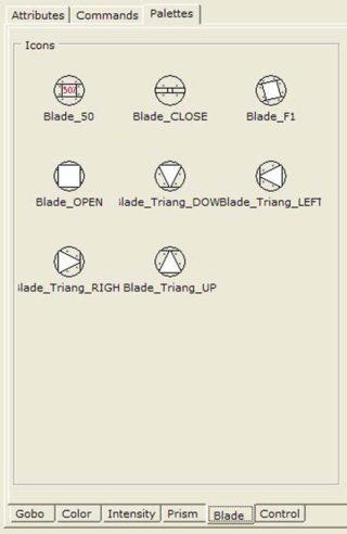 Screenshot Symbole Blendenschieber
