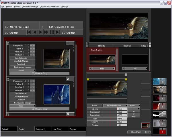 Screenshot Medienserver