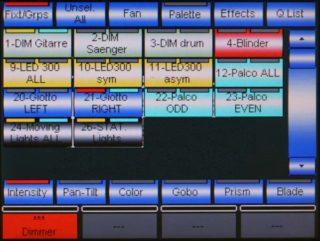 Pilot 3000 Screen Gruppen