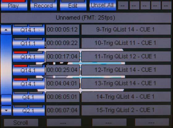 Screenshot SMPTE Zuordnung