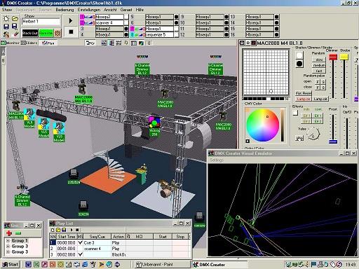 Screenshot Bühne VXCO