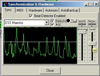 Screenshot Beat decoder