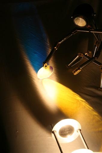 Dichrofilten im Lichtkegel