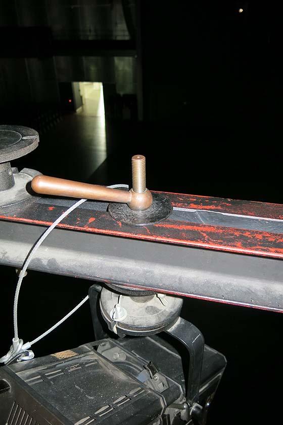 Spindel Scheinwerferplatte an Doppel-U-Träger