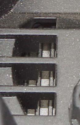 ETC Source Four Profile Kühlschlitze