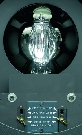 Höhenverstellbarer Leuchtmittelträger