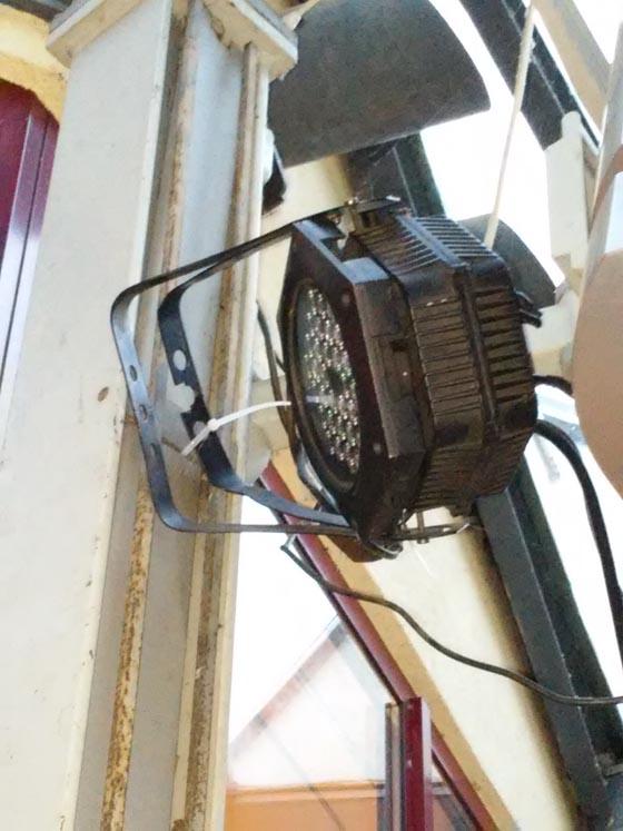 Kabelbinder als Sicherungsseil