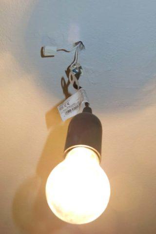 LAmpe an Decke