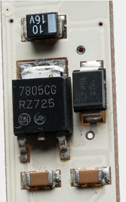 LED-Streifen Spannungsregler