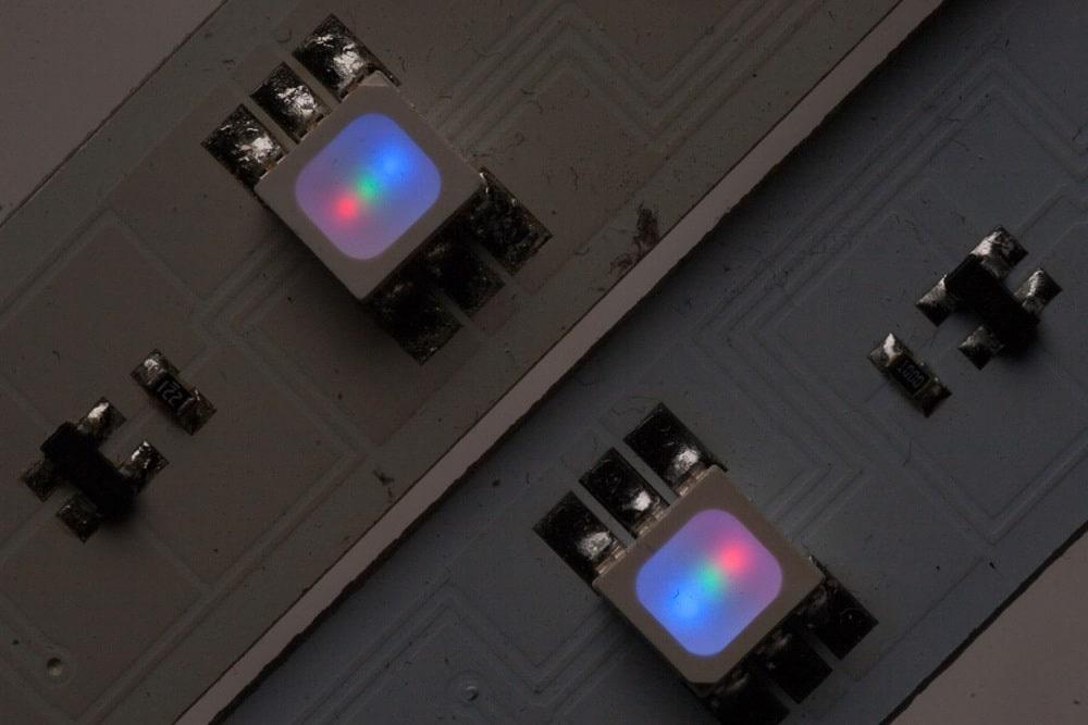 LED-Streifen SMD Ausrichtung