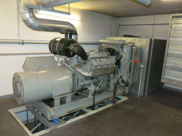 Generator am Diesel