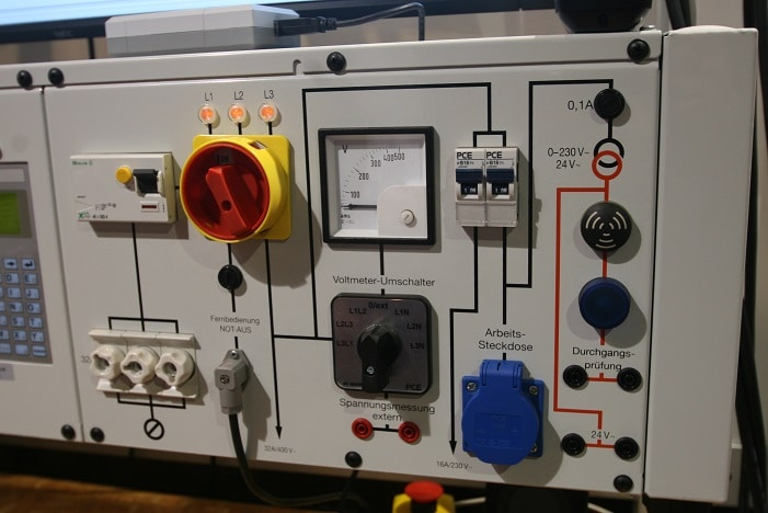 Prüftafel Elektro