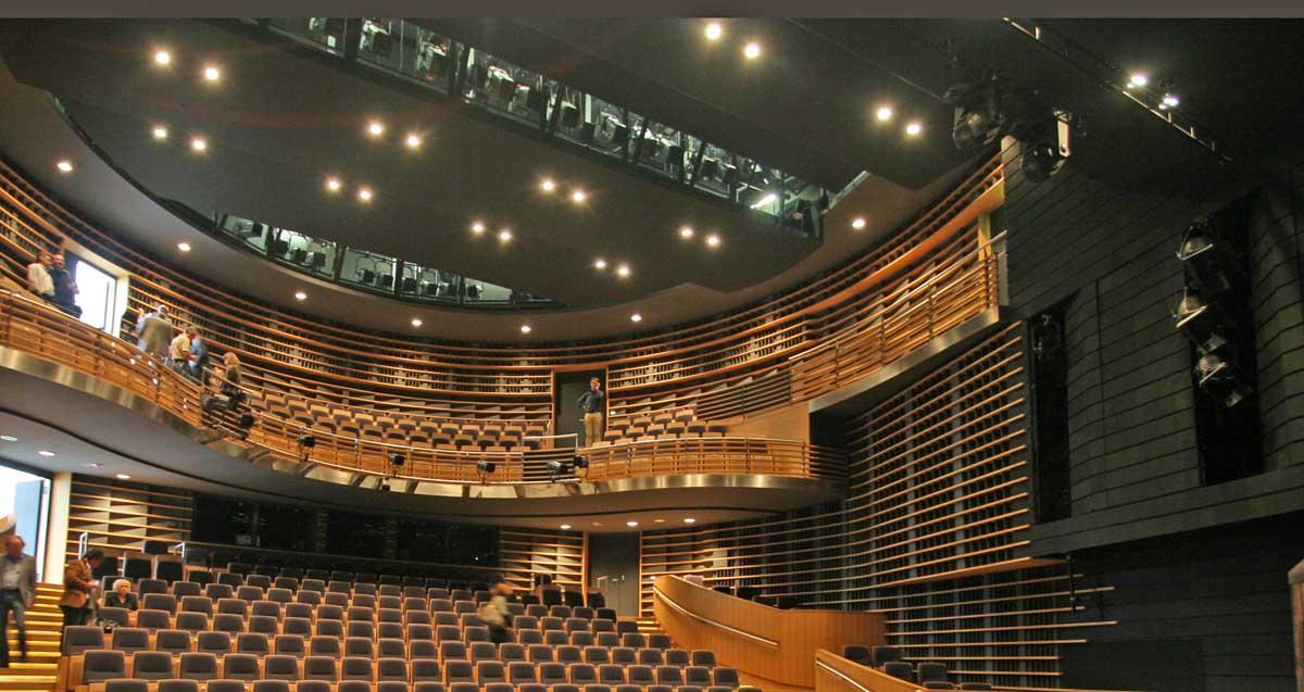 Z-Brücken im Theater